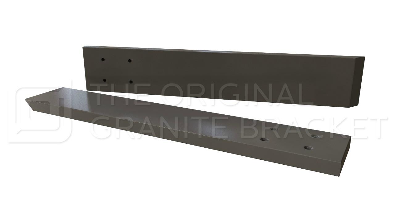 The original granite bracket the original granite bracket for Knee wall support
