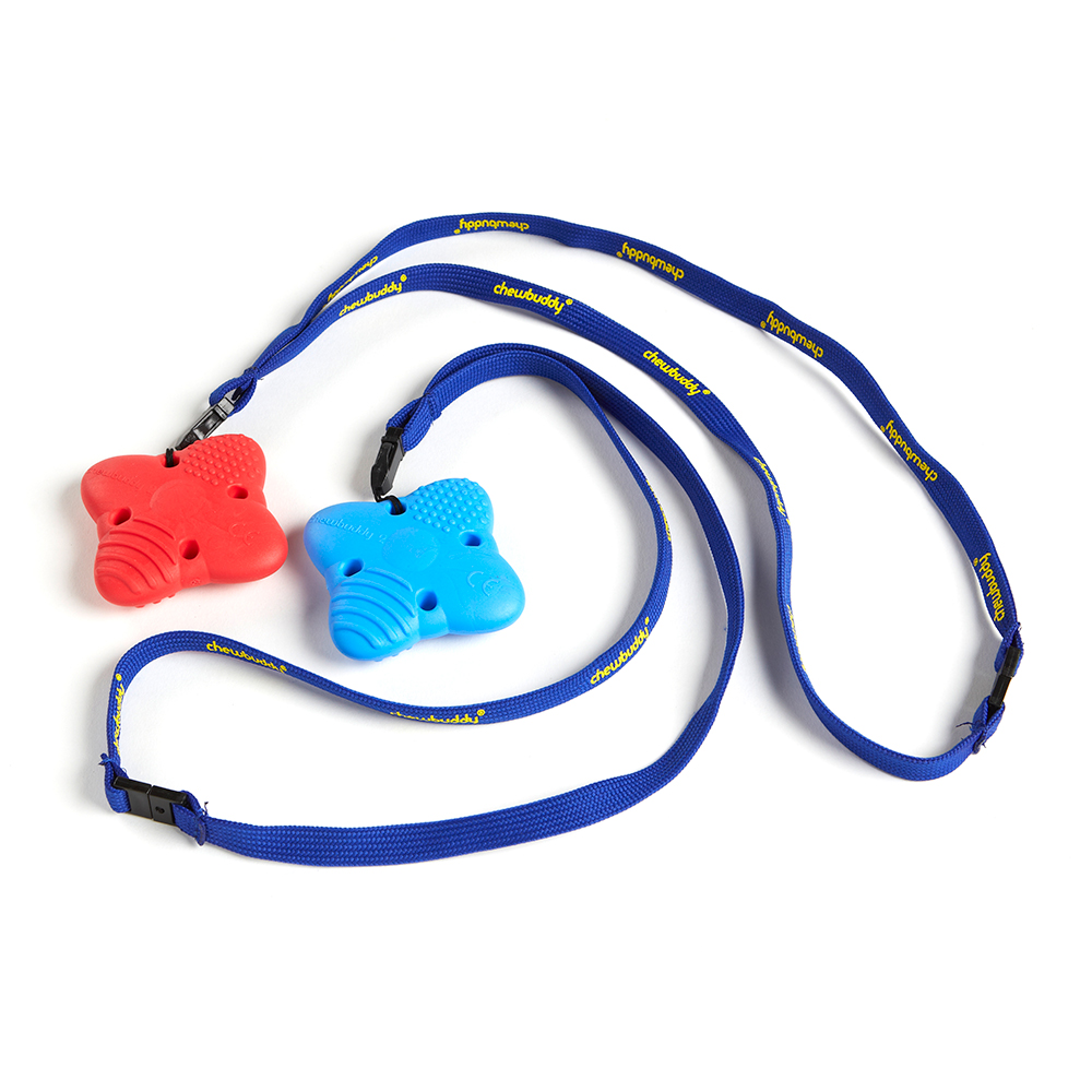 Chewbuddy Pack of 2 Medical Grade Material Textured Sensory Chews For Autism
